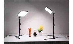 [Free Stand] Youtube Light LED Panel MM-240 suitable for desktop youtube zoom lighting